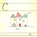 "Abbecedario ""C"", china_ink"